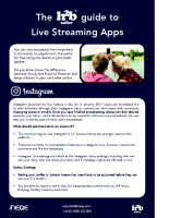 Guide to Live Streaming Apps