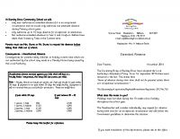 Extended Holiday leaflet 2016